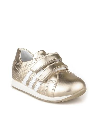 Cicibebe Nubuk Kız Çocuk Ayakkabısı Bronz